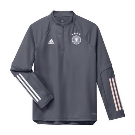 Germany Training Top - Dk Grey - Kids Adidas