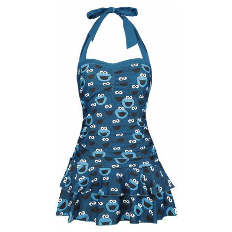 Sesame Street - Cookie Monster - Bathing Suit - blue