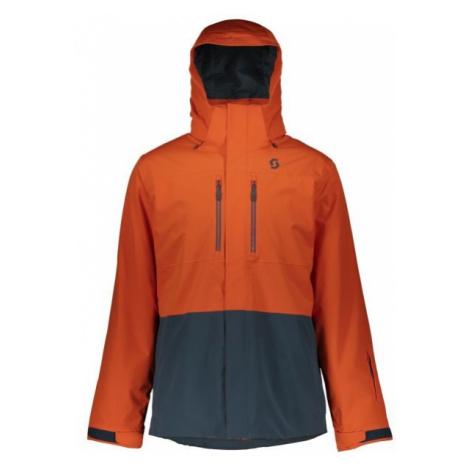 Scott ULTIMATE DRYO 40 orange - Men's winter jacket