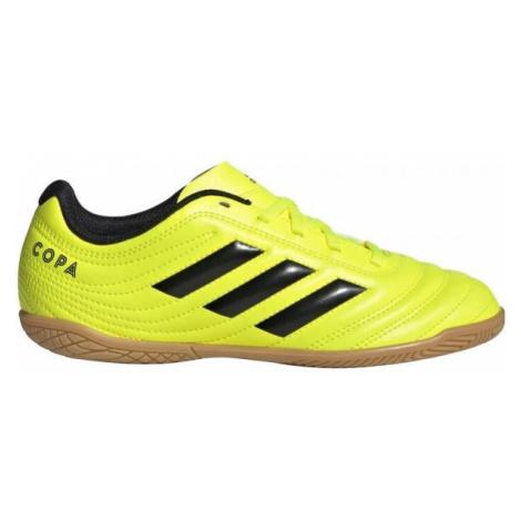 adidas COPA 19.4IN J yellow - Kids' indoor shoes