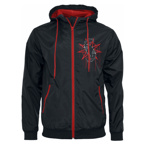 Slipknot - Rotting Goat - Windbreaker - black-red