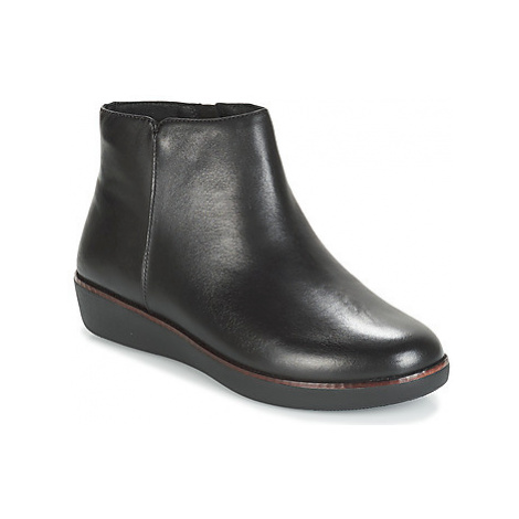 FitFlop ZIGGY ZIP women's Mid Boots in Black