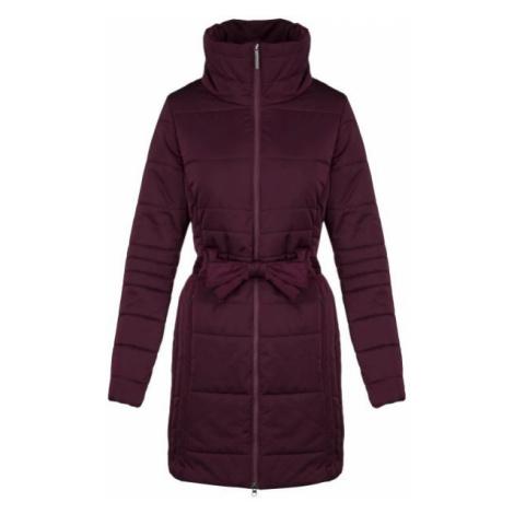 Loap TEVA red wine - Women's coat