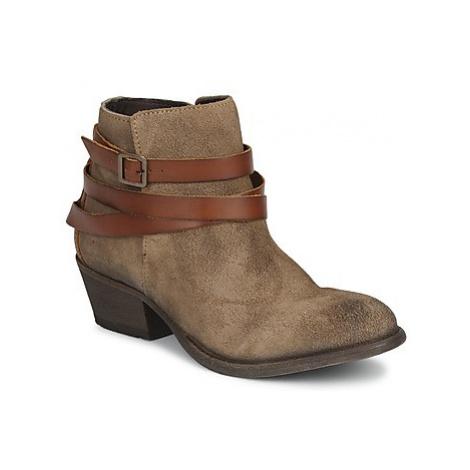 Hudson HORRIGAN women's Low Ankle Boots in Brown Hudson London