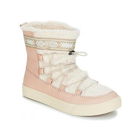 Toms ALPINE women's Snow boots in Pink