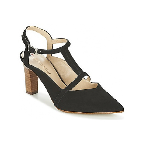 France Mode PEPITO SETA women's Court Shoes in Black