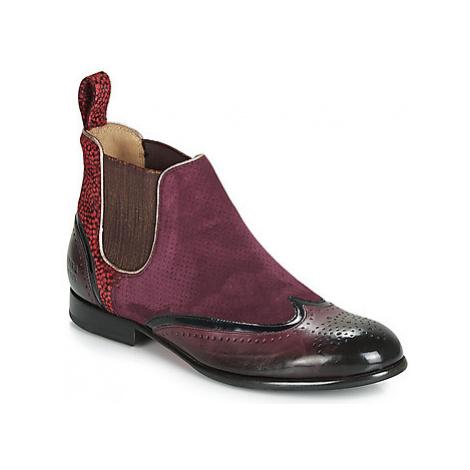 Melvin Hamilton SALLY women's Mid Boots in Pink Melvin & Hamilton