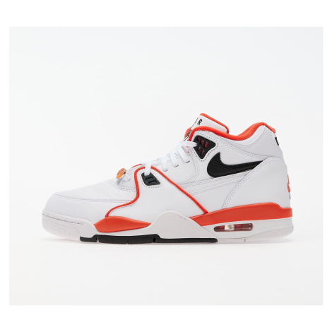 Nike Air Flight 89 Emb White/ Black-Team Orange