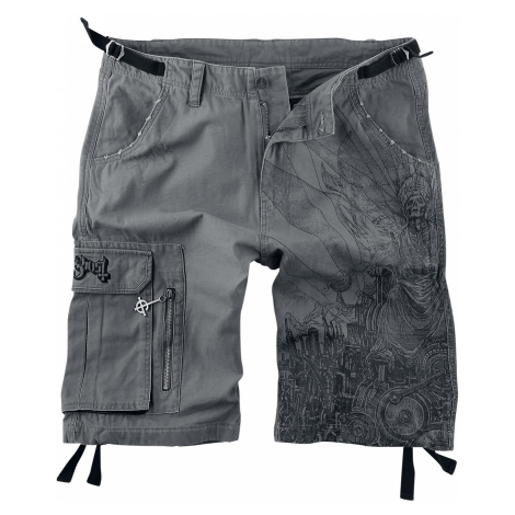 Ghost - EMP Signature Collection - Shorts - grey-black