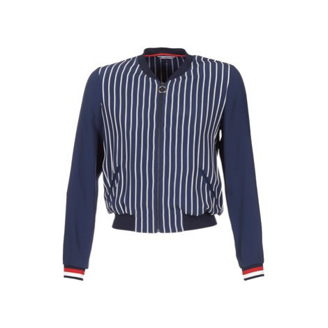 Tommy Hilfiger NALOME GLOBAL STP BOMBER women's Jacket in Blue