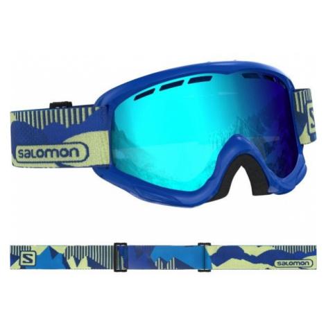 Salomon JUKE blue - Children's downhill ski goggles