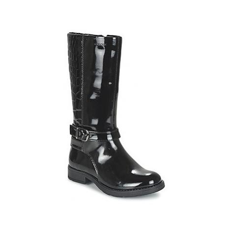 Geox SOFIA girls's Children's High Boots in Black