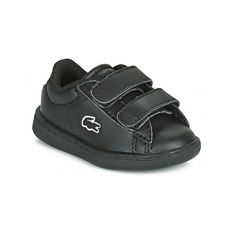 Lacoste CARNABY EVO BL 3 SUI girls's Children's Shoes (Trainers) in Black