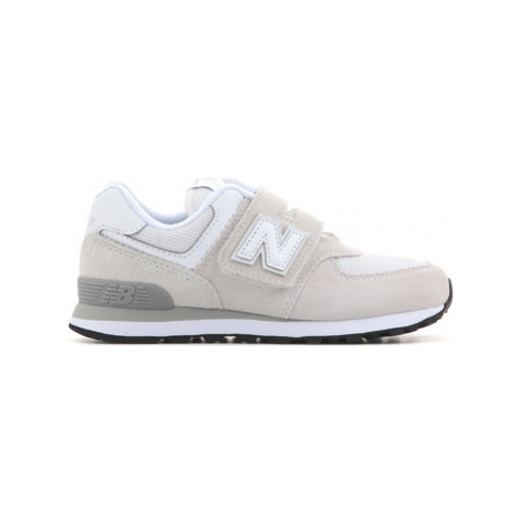 New Balance YV574GW girls's Children's Shoes (Trainers) in Brown