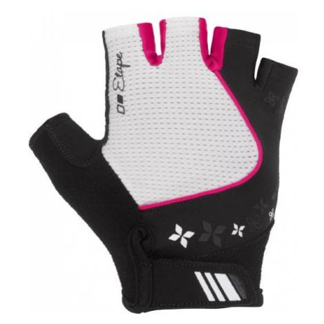 Etape AMBRA white - Women's cycling gloves