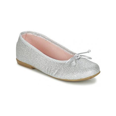 Citrouille et Compagnie GLIGLO girls's Children's Shoes (Pumps / Ballerinas) in Silver