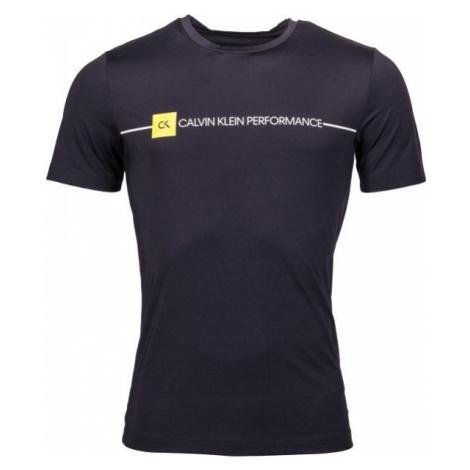 Calvin Klein SHORT SLEEVE TEE black - Men's T-Shirt
