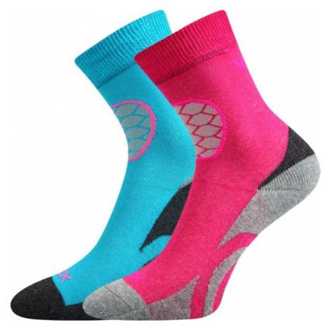 Voxx LOXIK 2P pink - Children's terry socks