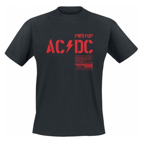 AC/DC PWR Up T-Shirt black