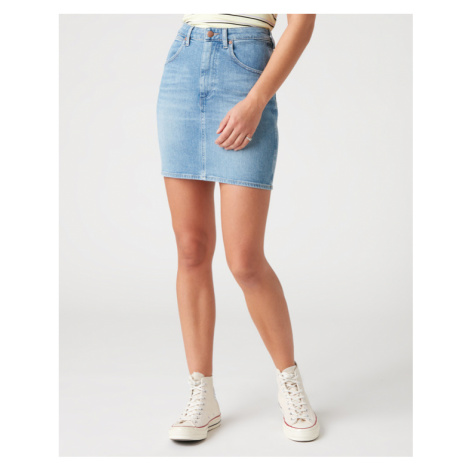 Wrangler Mom Skirt Blue