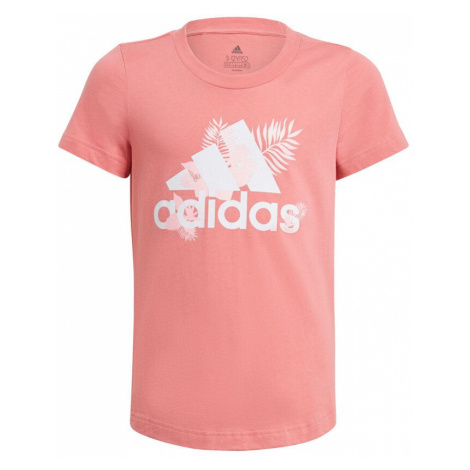 Pink girls' sports t-shirts and tank tops