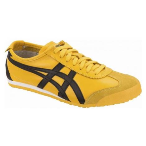 Asics MEXICO 66 yellow - Women's leisure shoes