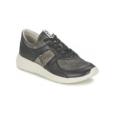 Esprit CLOUDY LACE UP women's Shoes (Trainers) in Black