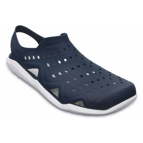 shoes Crocs Swiftwater Wave - Navy/White - men´s