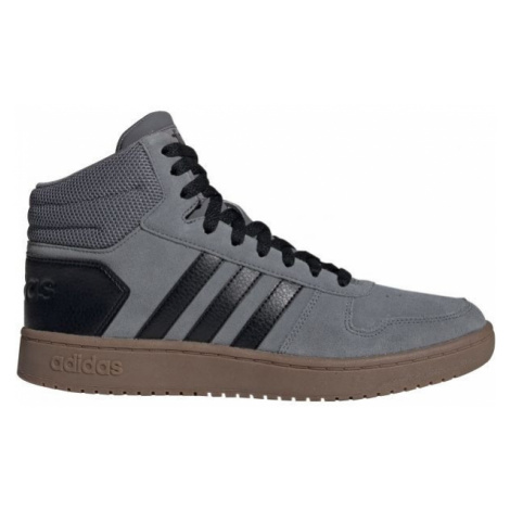 adidas HOOPS 2.0 MID blue - Men's ankle shoes