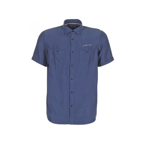 Oxbow K1CAMPI men's Short sleeved Shirt in Blue