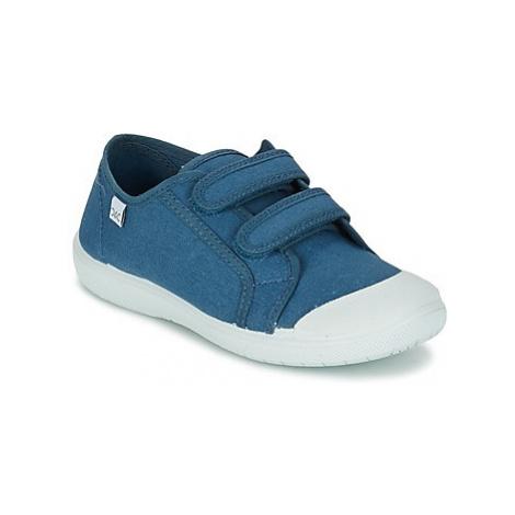Citrouille et Compagnie GLASSIA girls's Children's Shoes (Trainers) in Blue