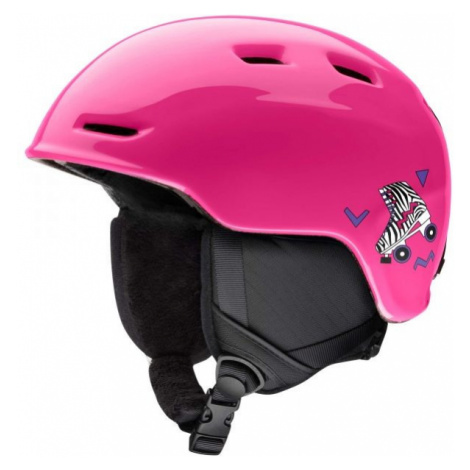 Smith ZOOM JUN pink - Kids' ski helmet