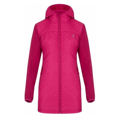 Loap ULLY pink - Women's softshell coat
