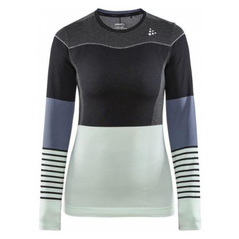 Craft FUSEKNIT COMFORT BLOCKED RN LS W - Women's functional T-shirt