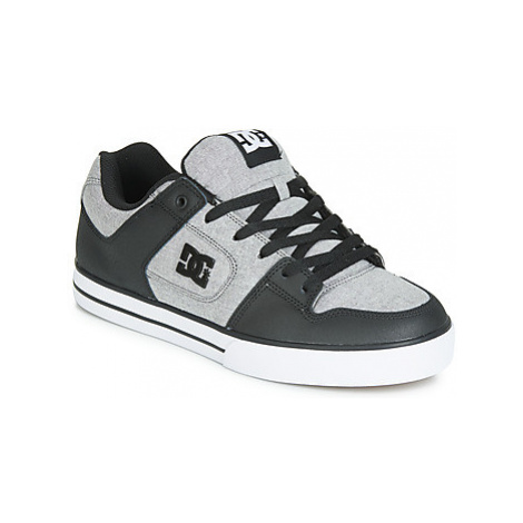 DC Shoes PURE SE M SHOE GRH men's Skate Shoes (Trainers) in Grey
