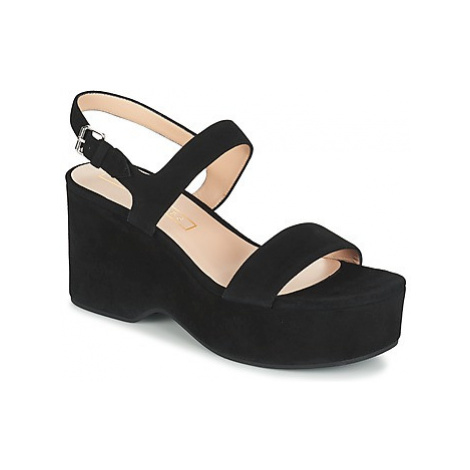 Marc Jacobs LILLYS WEDGE women's Sandals in Black