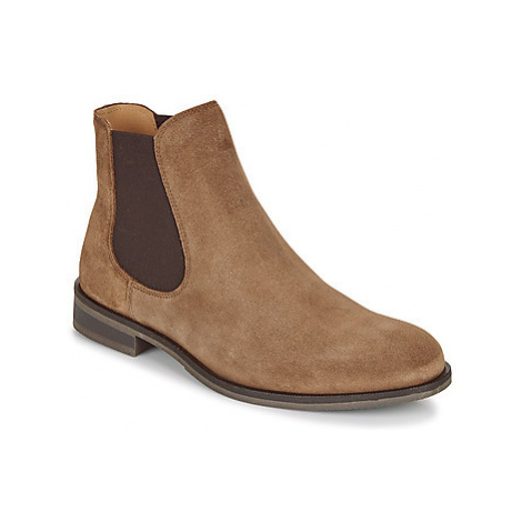 Selected LOUIS SUEDE CHELSEA men's Mid Boots in Brown