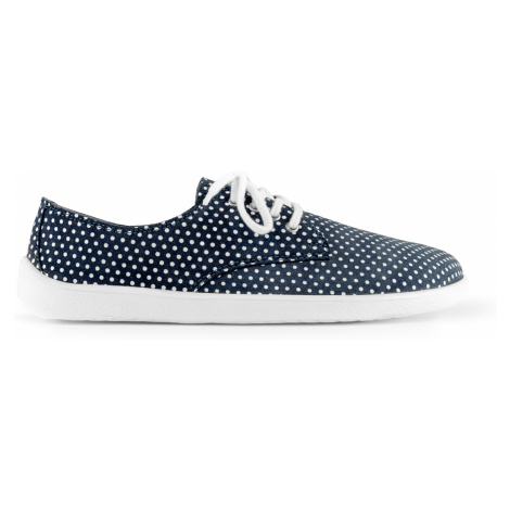 Barefoot Shoes - Be Lenka City - Dark Blue with White Dots 46
