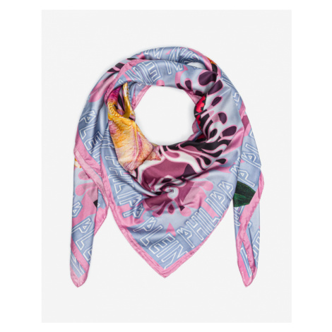 Philipp Plein Light Strawberry Scarf Colorful