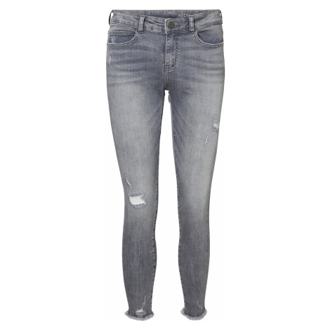 Noisy May - Lucy Skinny Ankle Jeans - Girls jeans - grey