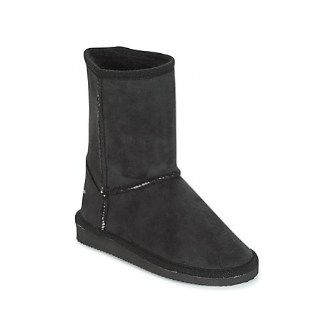 Citrouille et Compagnie ZOONO girls's Children's High Boots in Black