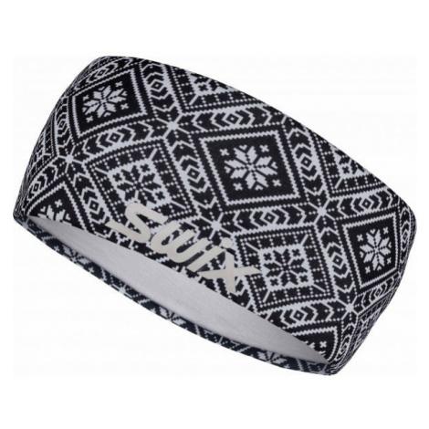 Swix MYRENE white - Stylish sports headband