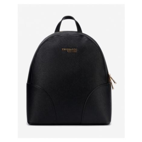 Trussardi Jeans Bella Medium Backpack Black