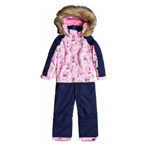 overall Roxy Paradise Jumpsuit - MEQ1/Prism Pink Snow Trip - kid´s
