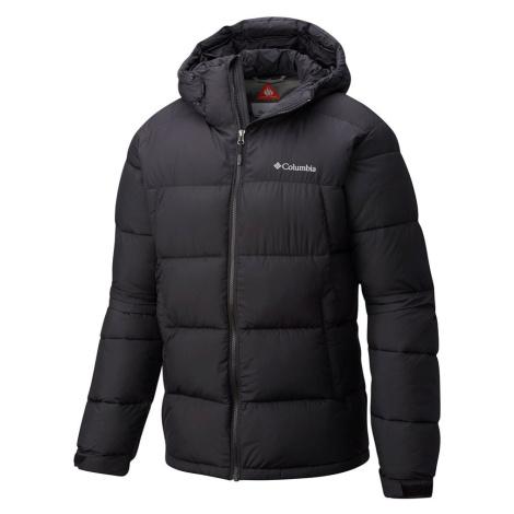 Columbia Mens Pike Lake Hooded Jacket-Black-2XL