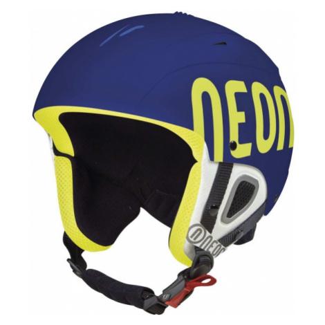 Neon LUNAR blue - Ski helmet