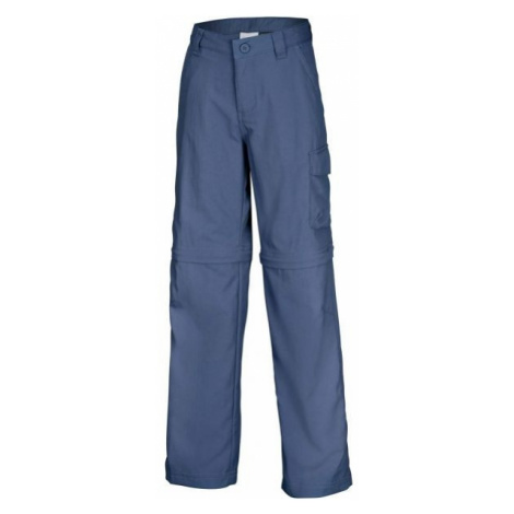 Columbia SILVER RIDGE III CONVERTIBLE PANT blue - Girls' outdoor pants
