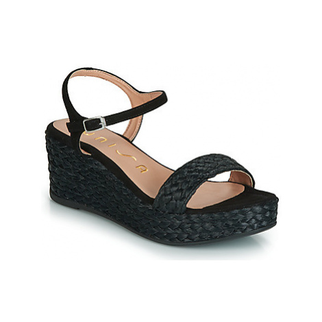 Unisa KATIA women's Sandals in Black