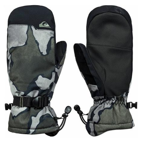 glove Quiksilver Mission Mitt - KVJ5/Black Sir Edwards - men´s