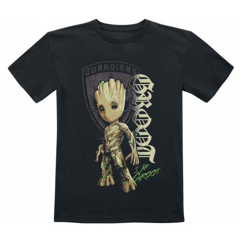 Guardians Of The Galaxy 2 - Groot Shield T-Shirt black